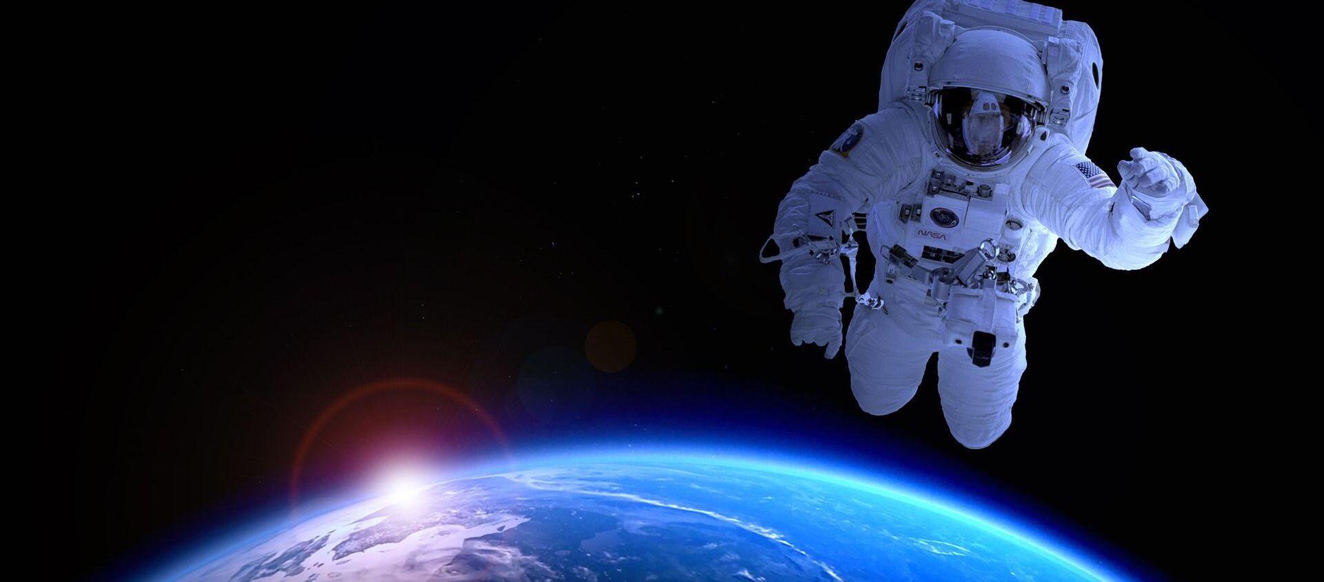 Un astronauta  estadounidense (imagen referencial) - Sputnik Mundo, 1920, 02.06.2021