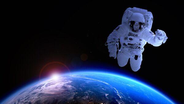 Un astronauta  estadounidense (imagen referencial) - Sputnik Mundo
