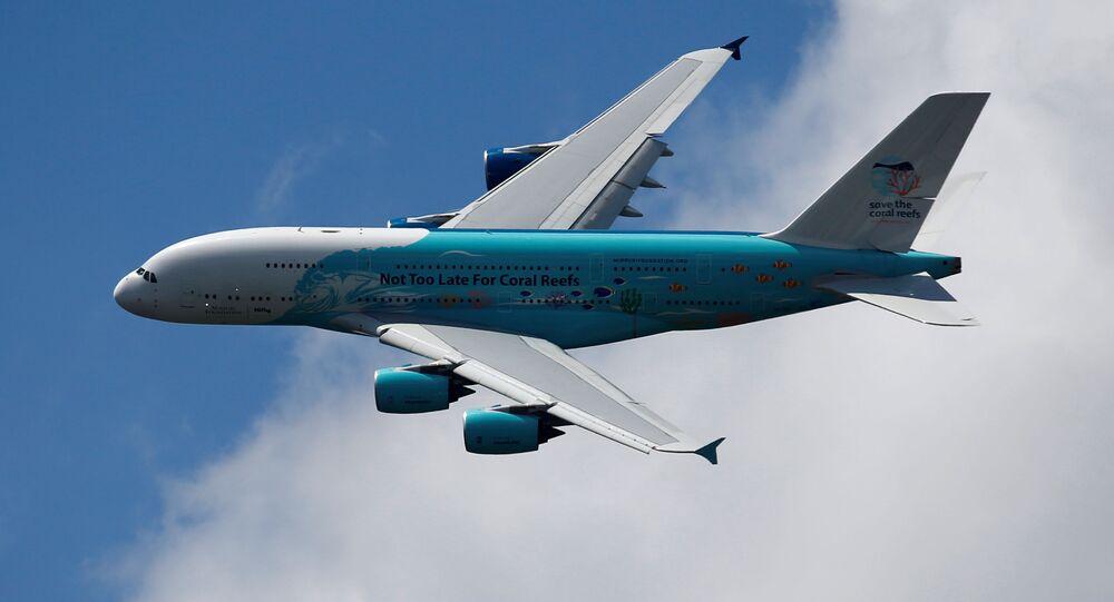 Un avión A380