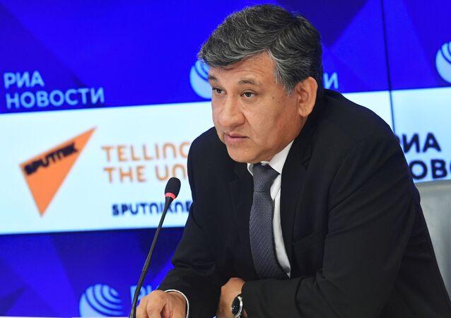 Hugo Villarroel, embajador de Bolivia en Rusia