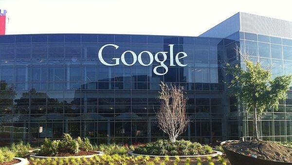 Las oficinas principales de Google en Mountain View (California) - Sputnik Mundo