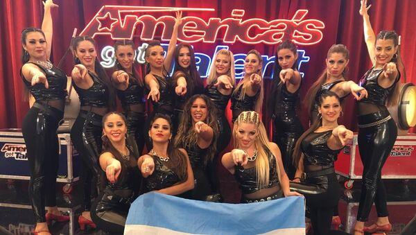 'Revolution Queens', el grupo de bailarinas argentinas que revolucionó América's Got Talent - Sputnik Mundo