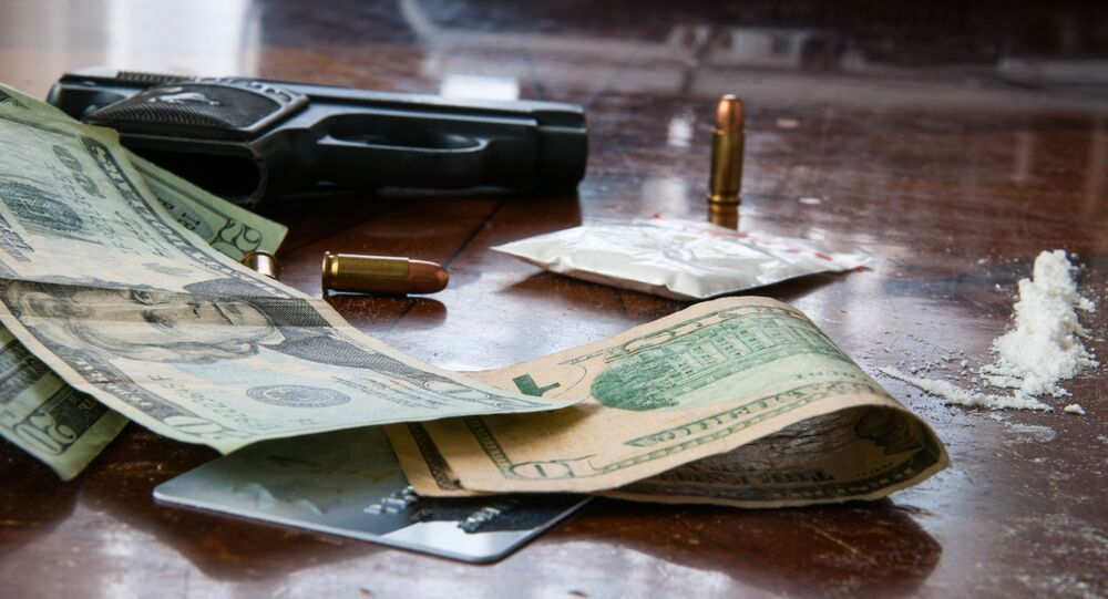 Cocaína, dólares y balas