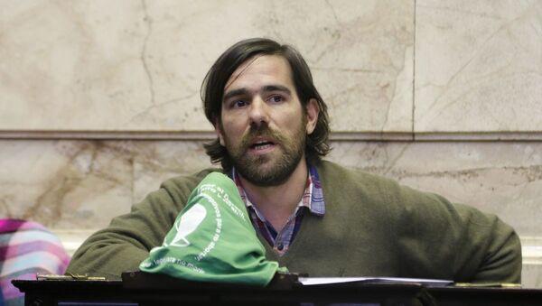 Nicolás del Caño, precandidato a la presidencia argentina - Sputnik Mundo