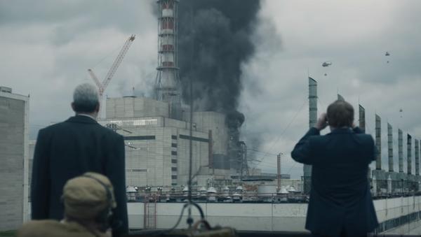 Una escena de la serie de HBO 'Chernóbil' ('Chernobyl') - Sputnik Mundo