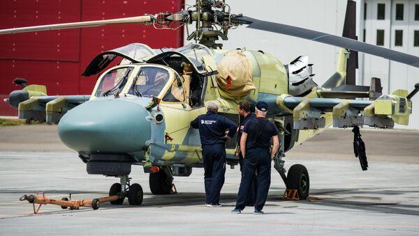 'Granja de aligátores': así se producen los helicópteros rusos Ka-52 - Sputnik Mundo