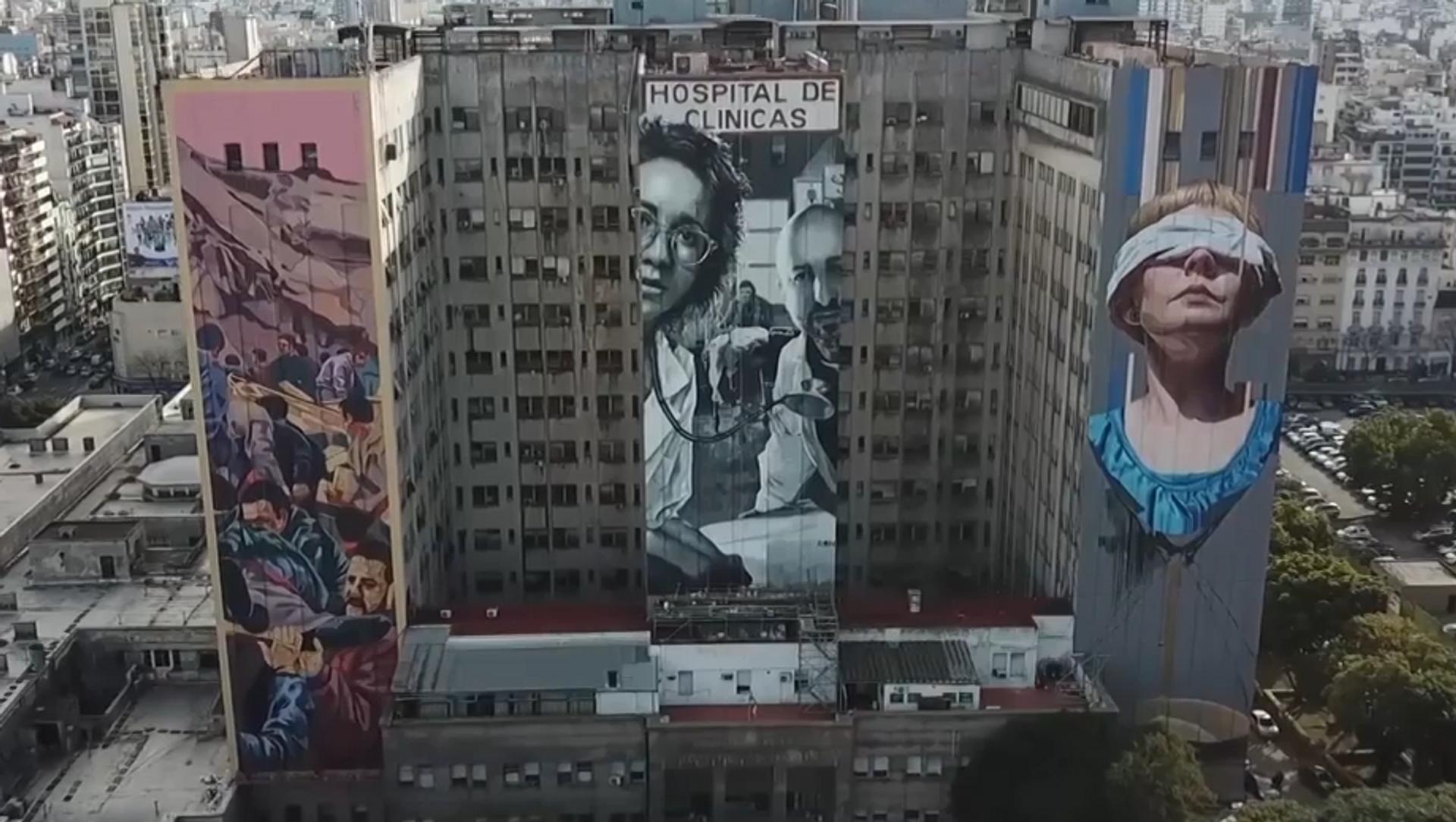 Tres murales en Argentina para recordar el atentado a la AMIA - Sputnik Mundo, 1920, 18.07.2019