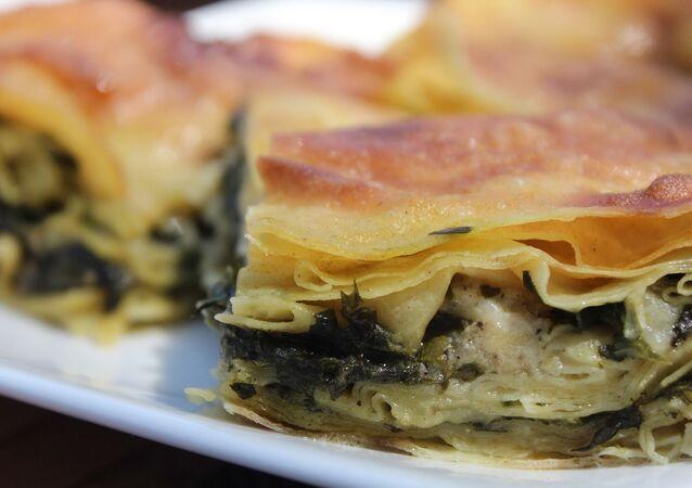 Un borek, empanada típica turca (imagen referencial)