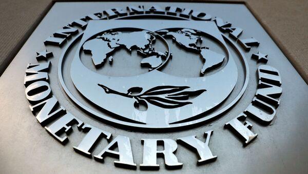 Logo del Fondo Monetario Internacional (FMI) - Sputnik Mundo