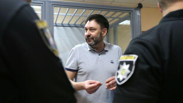 El director del portal RIA Novosti Ukraina, Kiril Vishinski - Sputnik Mundo