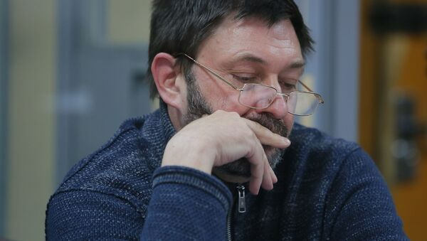 El jefe del portal RIA Novosti Ukraina, Kiril Vishinski - Sputnik Mundo