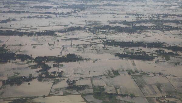 Inundación en Nepal - Sputnik Mundo