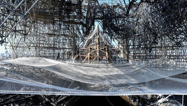 La catedral parisina de Notre Dame (archivo) - Sputnik Mundo