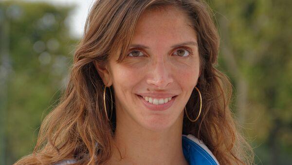 Nathalie Marie Moellhausen, deportista brasileña - Sputnik Mundo