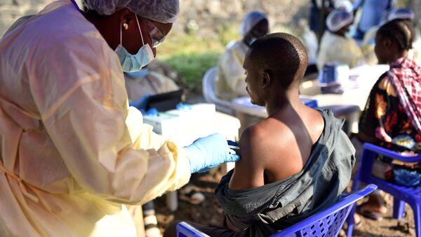 Vacunación contra el ébola en la República Democrática del Congo - Sputnik Mundo