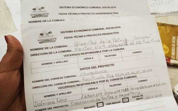 Documento del Sistema de Iniciativa Económica Socialista Comunal de Caracas, Venezuela - Sputnik Mundo