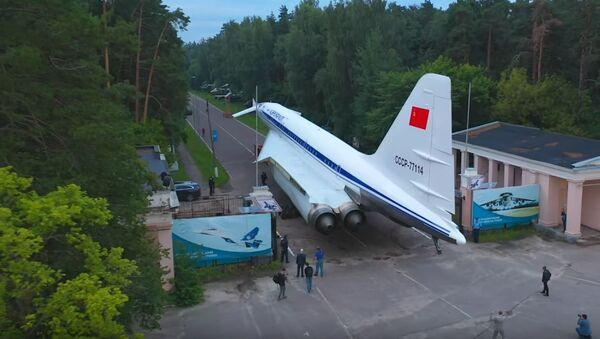 El Tu-144 es trasladado a Zhukóvski - Sputnik Mundo