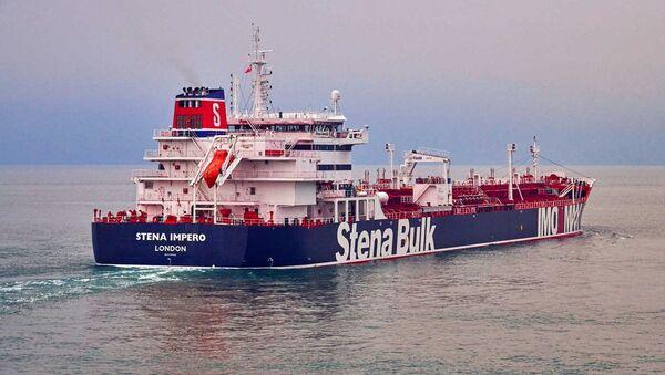 El petrolero británico Stena Impero - Sputnik Mundo