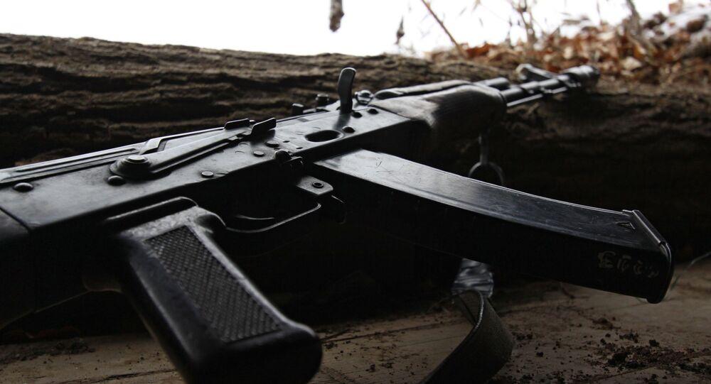 Un arma