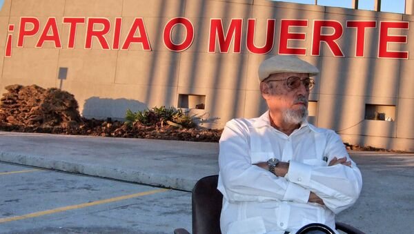 Roberto Fernández Retamar, poeta y ensayista cubano  - Sputnik Mundo