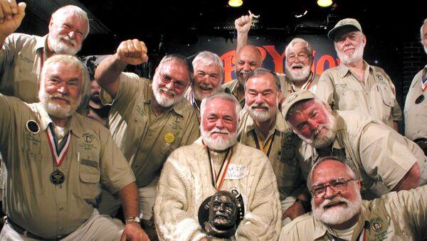 Un concurso de dobles de Ernest Hemingway, foto de archivo - Sputnik Mundo