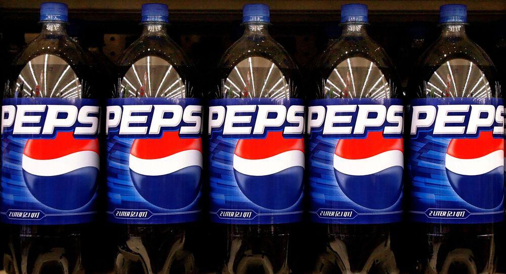 Botellas con Pepsi