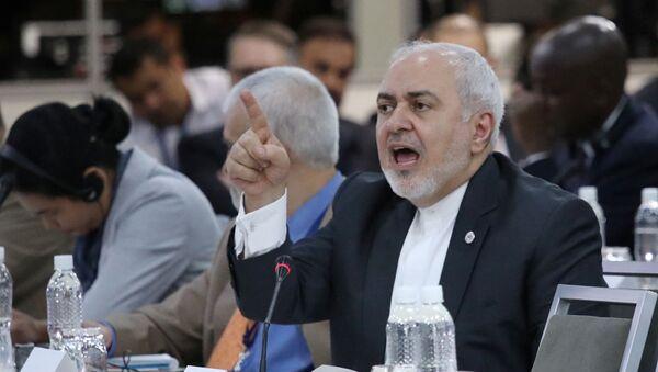 Mohamad Yavad Zarif, canciller de Irán - Sputnik Mundo