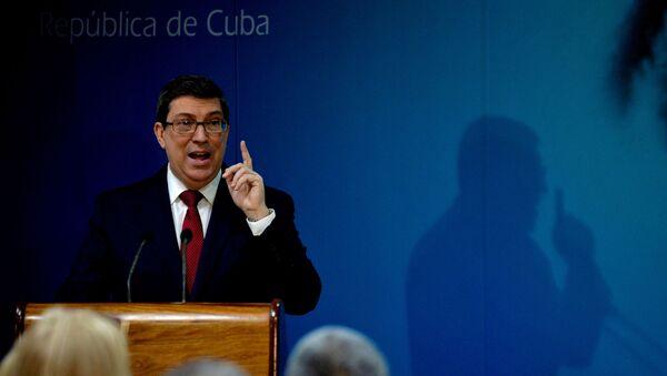 Bruno Rodríguez Parrilla , canciller de Cuba - Sputnik Mundo