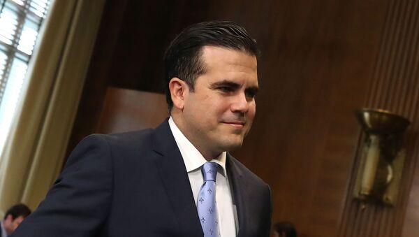 Ricardo Rosselló, gobernador de Puerto Rico - Sputnik Mundo