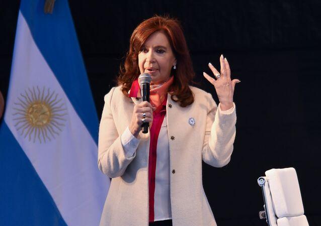 Cristina Fernández de Kirchner, expresidenta argentina
