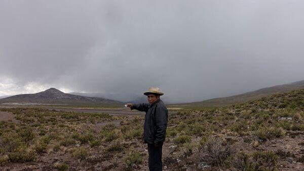 Volcán Ubinas, Santiago de Machaca, Bolivia - Sputnik Mundo