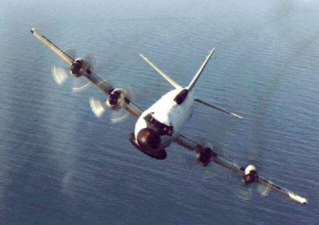 Un avión espía estadounidense EP-3 (archivo)