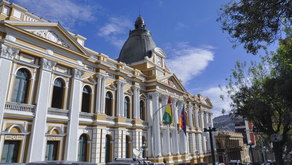 Asamblea Legislativa Plurinacional de Bolivia - Sputnik Mundo