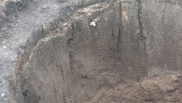 Cueva prehistórica hallada en la localidad de Batán en Buenos Aires - Sputnik Mundo