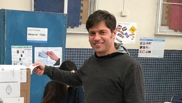 Axel Kicillof, candidado a gobernador de  Buenos Aires - Sputnik Mundo