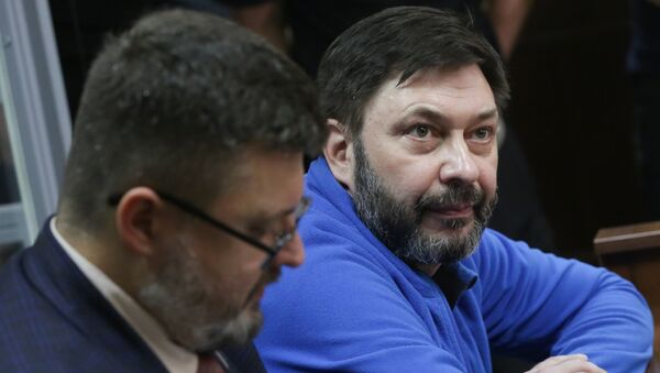 Kiril Vishinski, el jefe del portal RIA Novosti Ukraina - Sputnik Mundo