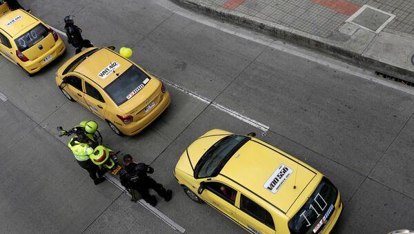 Los coches de Uber - Sputnik Mundo