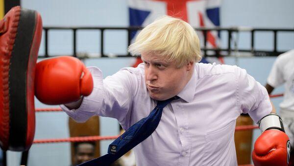 Boris Johnson, el primer ministro británico - Sputnik Mundo