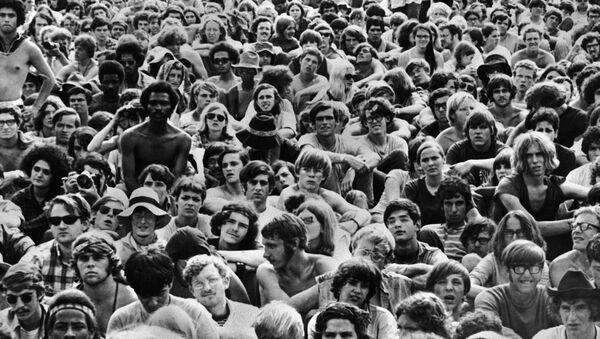 Festival de Woodstock en 1969 - Sputnik Mundo