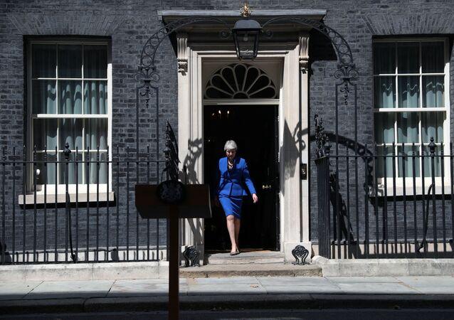 Theresa May, ex primera ministra del Reino Unido