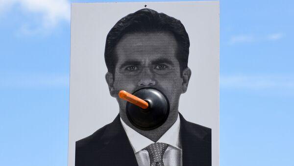 Una imagen de Ricardo Rosselló, gobernador de Puerto Rico - Sputnik Mundo