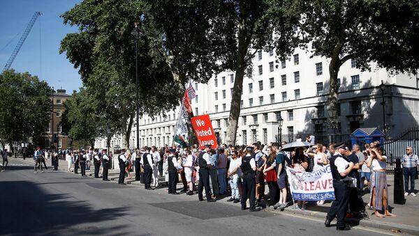 Protestas en Londres - Sputnik Mundo