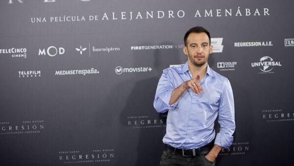 El director de cine español Alejandro Amenábar - Sputnik Mundo