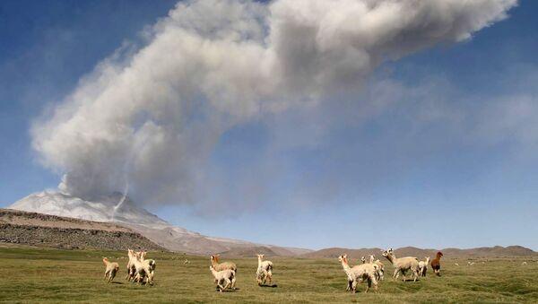 Volcán Ubinas, Perú (archivo) - Sputnik Mundo