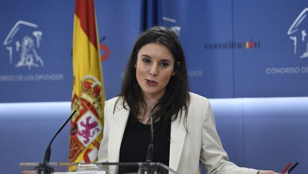 Irene Montero, portavoz del grupo parlamentario Unidas Podemos - Sputnik Mundo