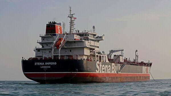 Buque petrolero Stena Impero - Sputnik Mundo