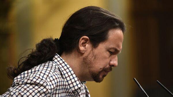 Pablo Iglesias, líder del partido Unidas Podemos  - Sputnik Mundo