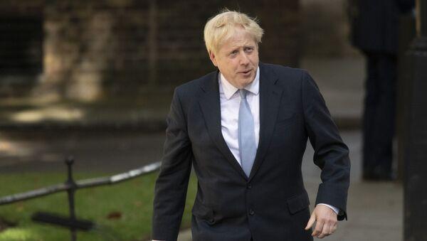 Boris Johnson, primer ministro del Reino Unido  - Sputnik Mundo