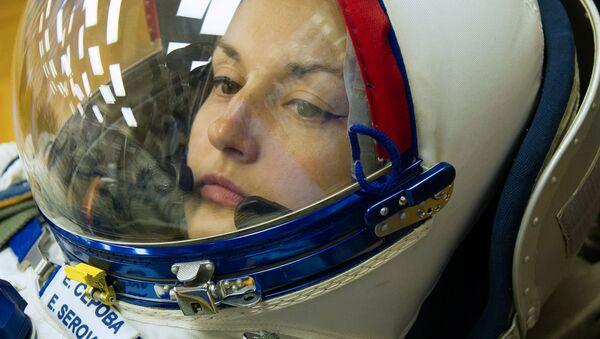 Elena Serova, cosmonauta rusa - Sputnik Mundo