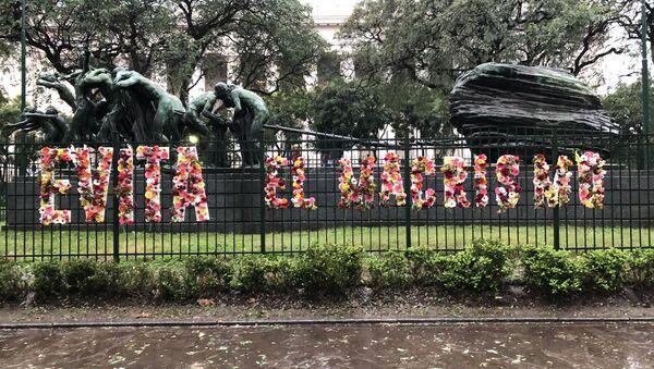 El evento 1000 flores para Evita/Evita el macrismo - Sputnik Mundo